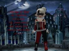 {HCM} Harley Q Red
