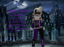 {HCM} Harley Q Purple