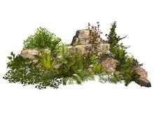 MSD - Wall Ruins Garden - 9 (18 LI) C/M