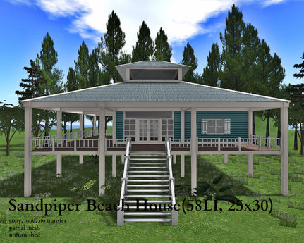 Sandpiper Beach House(58LI, 25x30)