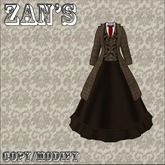 zan's  Blazer belle (tweed and brown)
