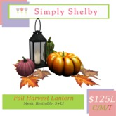 Simply Shelby Harvest Lantern