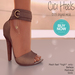 Apple May Designs - Cici Heels - Brown (wear to unpack)