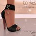 Apple May Designs - Cici Heels - Black (wear to unpack)