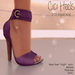 Apple May Designs - Cici Heels - Lilac (wear to unpack)