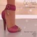 Apple May Designs - Cici Heels - Pink (wear to unpack)