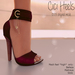 Apple May Designs - Cici Heels - Ruby (wear to unpack)