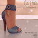 Apple May Designs - Cici Heels - Sky (wear to unpack)
