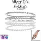 Ashbourne & Co. Pearl Bangles