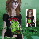 REVOSA Loose T-Shirt [Zombie Hugs] - Maitreya Exclusive