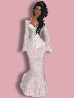 .::DDBG::.Princess Ball Gown White