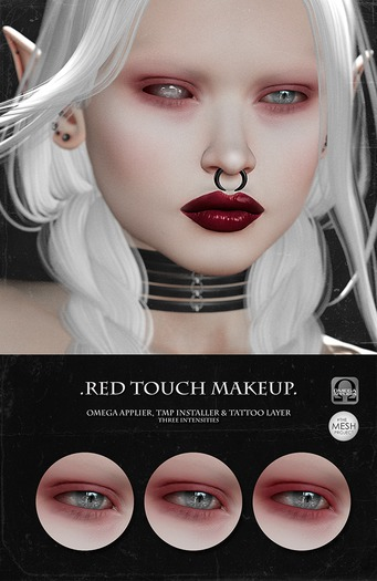 -SU!- Red Touch Makeup (Omega/Catwa)