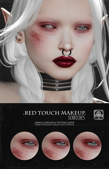 -SU!- Red Touch Makeup /Scratches/ (Omega/Catwa)