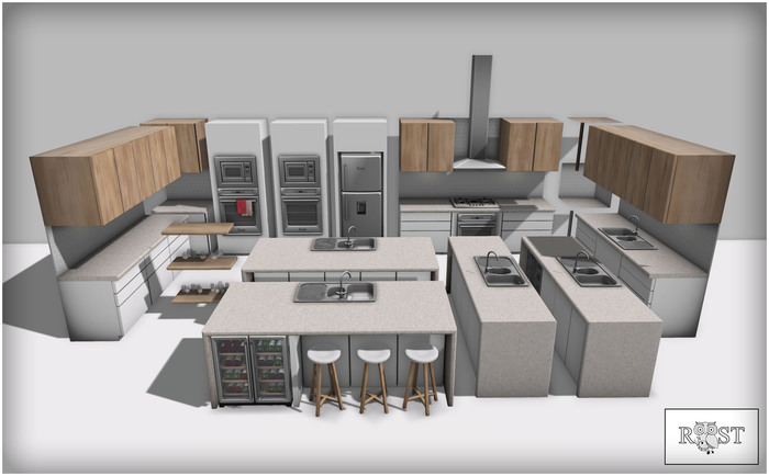 ROOST - Palm View Kitchen Set