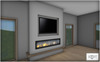 ROOST - Palm View Fireplace Wall