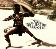 """Combat Pose: """"Achilles #1"""" by MKP"""