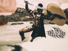 """Combat Pose: """"Achilles #2"""" by MKP"""