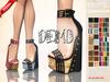 ::MA:: CORALIE Wedge Sandals - belleza, maitreya, slink, resize - DEMO