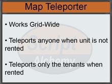 CasperLet Map Teleporter