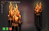 [MF]Mesh sublime illuminated high candelabra (boxed)