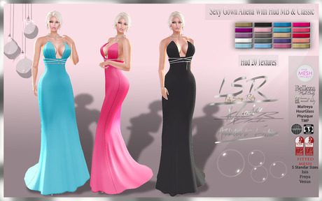 LsR - Sexy Gown Aliena With Hud MB & Classic
