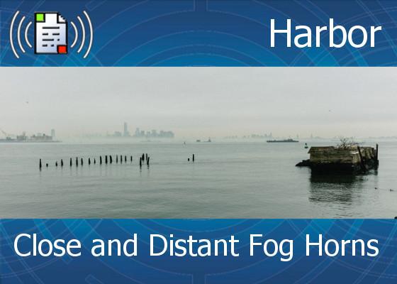 Atmo Sound Orb / Harbor - Close and Distant Fog Horns - 2:00