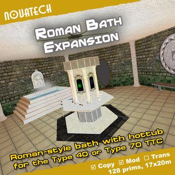 TARDIS Expansion, Roman Bath