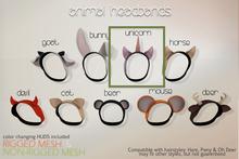 .ploom. Animal Headband - Unicorn