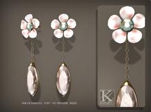 (Kunglers) Venus earrings - Romance
