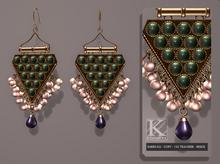 (Kunglers) Neia earrings - Copper