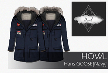 Howl - Hans GOOSE [Navy] WEAR