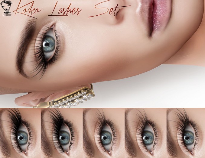 .euphoric ~Koko Lashes Set ~[Catwa]