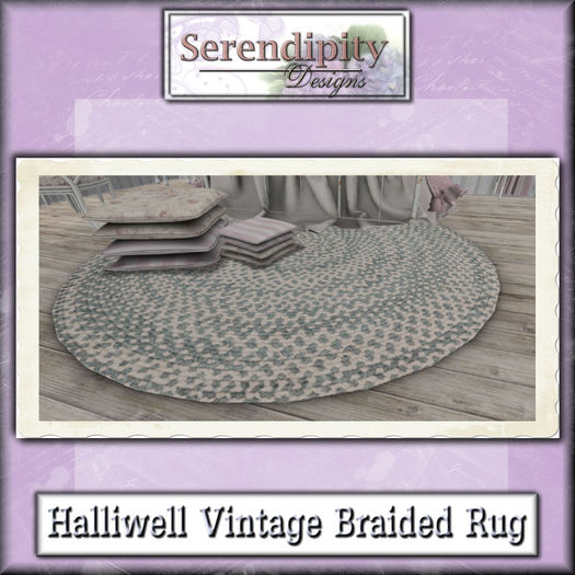 Serendipity Designs - Halliwell Vintage Braided Rug