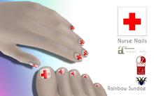 *RS* Nurse Nails - Slink/Maitreya