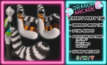 [DRGN ARCD] Scruffy Puffy Tail