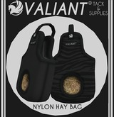 VALIANT® - Nylon Hay Bags [Black]