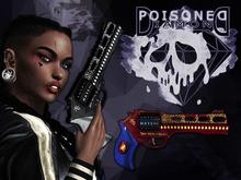 (Poisoned Diamond) Squad Chick gun BLUE/RED
