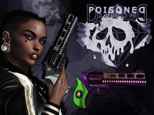 (Poisoned Diamond) Squad Chick gun PURPLE/GREEN