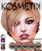 .kosmetik - Eyebrows.tweezed