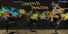 **CC** - Rainbow Graffiti Dancers