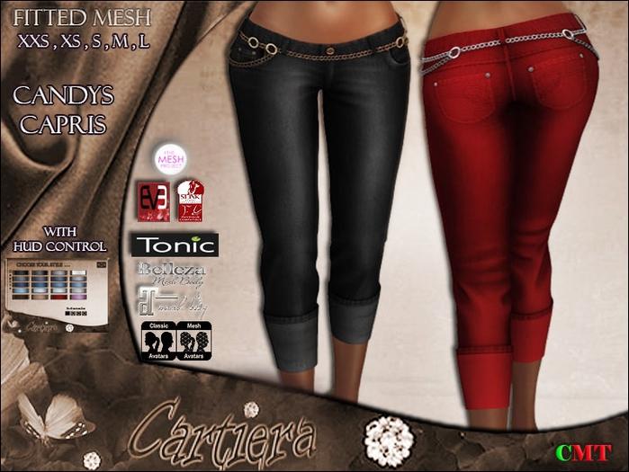 *..:: Cartiera Designs ::..* Candys Capris