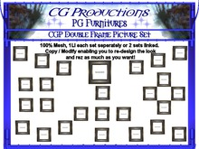 CGP Double Frame Picture Set