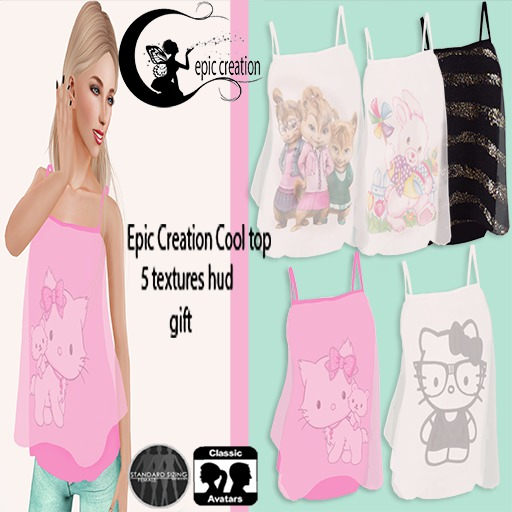 Epic creation Cool top gift