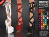"::MA:  Ribbon Heels  ""TAMARA"" - 50 COLOR PACK"