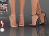 Pop roc single strap heels