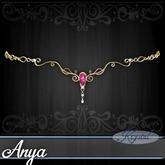 ::: Krystal ::: Anya - Circlet - Gold - Constellation