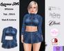 .:: Cremosas Store ::. Milenna Top + Skirt + HUD 8 Colors