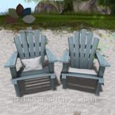 [sf] kids beach chair set - blue