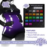 ::Static:: Simple Latex Dress - Colors
