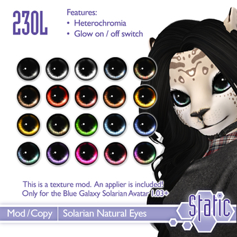 ::Static:: Solarian Natural Eyes Mod